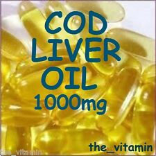 COD LIVER OIL SuperStrength 1000mg 180 Capsules    ( L)
