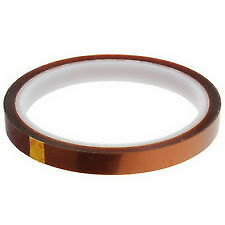 5mm x 33M Kapton Tape High Temp. Heat Resistant for 3D Printer/Electronics/DIY