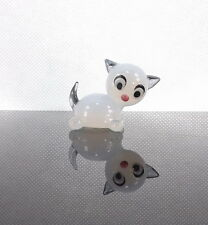 Cute Kitten Glass Figurine Amazing Gift For Cat Lovers Christmas Present For Her