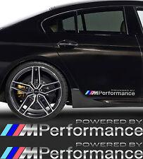 BMW  M Performance Aufkleber 2 Stk.Seitenaufkleber SPIEGEL CHROMEFFEKT Folie