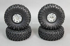Axial WRAITH  Rip Saw Rock Crawler 2.2 Rebel WHEELS TIRES -Set Of 4- *NEW*