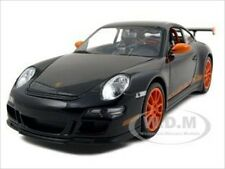 PORSCHE 911 (997) GT3 RS BLACK 1:24 DIECAST CAR MODEL BY WELLY 22495