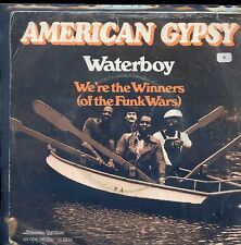 7inch AMERICAN GYPSY waterboy HOLLAND +PS1978 FUNKY