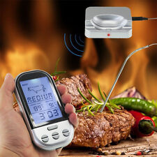 Digital Wireless Remote Kitchen Oven Food Cooking Meat BBQ Grill Thermometer New