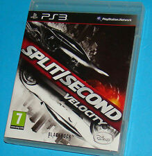 Split Second Velocity - Sony Playstation 3 PS3 - PAL