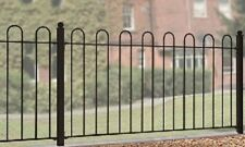 WROUGHT IRON METAL FENCING PANEL Richmond 6ft (1830mm)