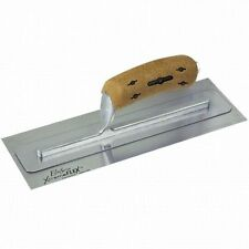 Kraft Tool Elite Series Xtreme Flex Plaster Stainless Steel Finishing Trowel 16""