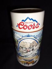 """Coors """"Rocky Mountain Legend White Water """" Beer Stein Mug NEW NEVER USED"""