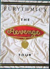 EURYTHMICS Revenge TOUR PROGRAM BOOK 1986