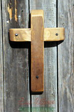 Cross made out of Wine Barrels, Handmade small