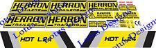 Herron Dump Trailer stickers / decals
