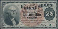 Fr1302 25¢ 4Th Fractional Currency Choice Cu Br5612
