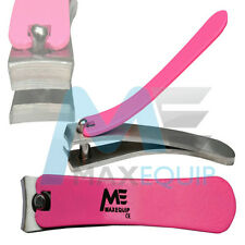 Professional PINK Toe Finger Thick NAIL CUTTER Manicure Clipper Nipper Chiropody