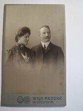 Hildesheim - Paar - Mann und Frau - Portrait / CDV