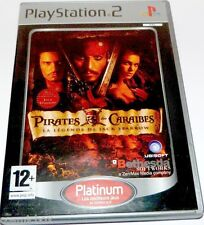 PlayStation 2 jeu PIRATES des CARAIBES la légende de JACK SPARROW console ps2
