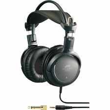 NEW JVC HA-RX900 Full Size Dynamic Sound Bass Boost Over Ear Headphones - Black