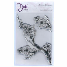 Dali Art A6 Clear Rubber Stamp - Cherry Blossom