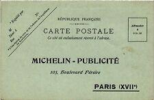 CPA PARIS 17e-Michelin Publicité-Boulevard Péreire (322411)