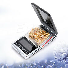 200g 0.01g Digital Mini Electronic Jewelry Scale Weight Pocket + Carrying Pouch