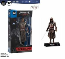 "ASSASSIN'S CREED Film Aguilar 7"" pollici Action figure McFarlane TOP COLORE BLU"