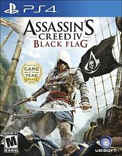 Assassin's Creed IV 4: Black Flag [Playstation 4 PS4 Ezio Exclusive] Brand NEW