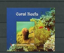 Antigua & Barbuda 2014 MNH Coral Reefs 1v S/S II Marine Great Star Coral