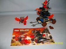 Lego Set 3051 Blaze Attack NINJA CASTLE w/ instructions 100% complete