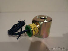 Used Peter Paul Electronics Solenoid Coil w/Cover, 100-120VAC, 38VDC, 2C-14-K24