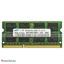 New Samsung 4GB PC3-8500S DDR3-1066MHz 204pin SODIMM Laptop Memory NON-ECC 1.5V