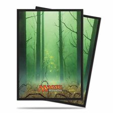 80 ULTRA PRO FOREST DECK PROTECTORS SLEEVES MTG Unhinged Green