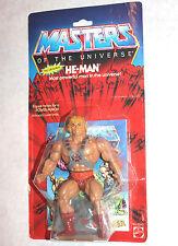 SEALED Heman vintage original MOTU 1982 unopened moc misp mosc He-Man himself