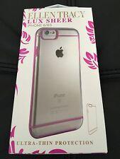 NEW ELLEN TRACT LUX SHEER IPHONE 6/6S CASE..MSRP $35.00+ TAX