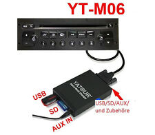 AUX IN USB SDHC Adaptador MP3 cambiador de CD Interfaz RD3 PU-1661B Peugeot 607