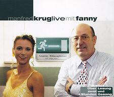 MANFRED KRUG - 2 CD - MANFRED KRUG LIVE mit FANNY