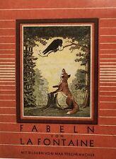 Fabeln. – La Fontaine, (Jean de). Fabeln. Max Teschemacher. EA