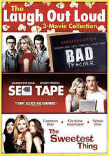 Bad Teacher | Sex Tape | Sweetest Thing (DVD, 2015, 2-Disc) Cameron Diaz 3 Films