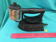 Vintage The Monitor Cast Iron Gas Clothes Sad Iron Door Stop Press Patented 1903