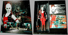 """STAR WARS 12"""" MASTERPIECE EDITION AURRA SING AND BOOK NEVER USED"""