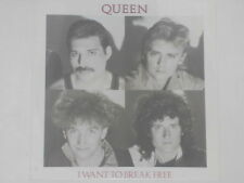 "QUEEN -I Want To Break Free- 7"" 45"