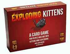 A Card Game About Kittens and Explosions and Sometimes Goats - NEW