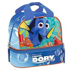 Finding Dory Double Lunch Bag School Travel Nursery Disney Food Container Box