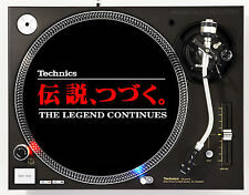 TECHNICS LEGEND - DJ SLIPMATS (1 PAIR) 1200's or any turntable