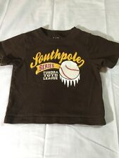 Boys T-Shir the childrens place 6-9 mos.100% Cotto brown Baseball