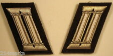 East German Germany DDR GDR NVA Infantry Field Officer Collar Tab Pair
