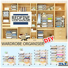 Cube DIY Cabinet Storage Cupboard Wardrobe Shoe Rack Toy Book Shelf Shelves