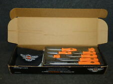 NOS! SNAP ON TOOLS HARLEY DAVIDSON 8pc. SCREWDRIVER SET w/ HAT, SDDX80HDX