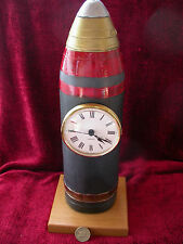 Replica Copy 18 Pounder Shell Clock-made in resin-moulded from original-INERT