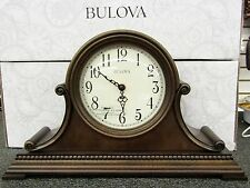 "BULOVA - NEW MANTEL CLOCK WITH HARMONIC CHIMES ""ASHEVILLE"" B1514"