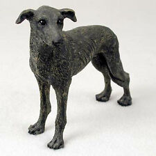 Greyhound Hand Painted Collectible Dog Figurine Statue Brindle