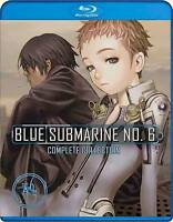 Blue Submarine No. 6 . The Complete OVA Series Collection . Anime . Blu-ray NEU